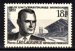 FRANCE 1957 -  Y.T. N° 1120 - NEUF** /3 - France