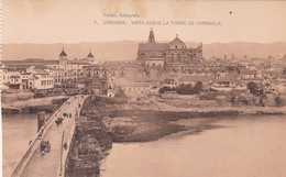 1900'S CPA SPAIN. CORDOBA. VISTA DESDE LA TORRE DE CARRAOLA. SEÑAN FOTO. HAUSER Y MENET.- BLEUP - Córdoba