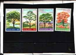 5921BIS ) Malawi Flora Africana Alberi Set 1979 -MNH** - Malawi (1964-...)