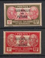 Wallis Et Futuna - 1930-38 - N°Yv. 58 Et 58A - Bougainville - 2 Valeurs - Neuf Luxe ** / MNH / Postfrisch - Wallis-Et-Futuna