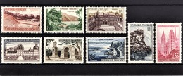 FRANCE 1957 - SERIE Y.T. N° 1124 A 1131  - NEUFS** /2 - Neufs