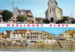 ** Lot De 6 Cartes ** 62 - MERLIMONT PLAGE :  -     CPM CPSM Grand Format - Pas De Calais - France