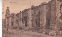 1900'S CPA SPAIN. CORDOBA. EXTERIOR DE LA CATEDRAL. SEÑAN FOTO. HAUSER Y MENET.- BLEUP - Córdoba
