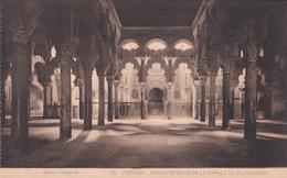 1900'S CPA SPAIN. CORDOBA. ARCADA INTERIOR DE LA CAPILLA DE VILLAVICIOSA. SEÑAN FOTO. HAUSER Y MENET.- BLEUP - Córdoba