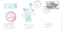 TAAF - Dumont D'Urville-T.Adélie: Lettre L'Astrobale Avec Timbre N°176 Skua - 21/02/1993 - Lettres & Documents