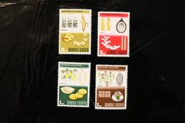 Samoa 283-286 Foods MNH  WYSIWY A04s - Samoa