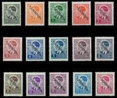 BES. 2WK SERBIEN Nr 1-15 Postfrisch X7DCD0A - Besetzungen 1938-45