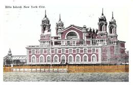 New York City - Ellis Island - Written 1930 - Stamp And Postmark - 2 Scans - Ellis Island