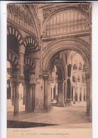 1900'S CPA SPAIN. CORDOBA. INTERIOR DE LA MEZQUITA. SEÑAN FOTO. HAUSER Y MENET.- BLEUP - Eglises Et Cathédrales