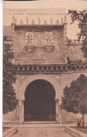 1900'S CPA SPAIN. CORDOBA. PUERTA DE ENTRADA A LA MEZQUITA. SEÑAN FOTO. HAUSER Y MENET.- BLEUP - Eglises Et Cathédrales