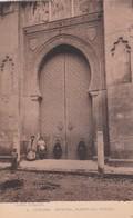 1900'S CPA SPAIN. CORDOBA. CATEDRAL PUERTA DEL PERDON. SEÑAN FOTO. HAUSER Y MENET.- BLEUP - Eglises Et Cathédrales