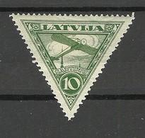 LETTLAND Latvia 1928 Michel 129 * - Flugzeuge