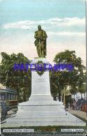115903 ARGENTINA BUENOS AIRES MONUMENTO A SAAVEDRA & TRANVIA TRAMWAY POSTAL POSTCARD - Argentine