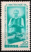 BRAZIL #1018  -  50 Years Of Discovery Of Rickettsia Prowazeki  - 1966 - Brazil