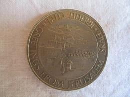 Israel: Medal Greetings From Jerusalem 1981 - Jetons & Médailles