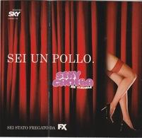 """CARTOLINA PUBBLICITARIA PROMOCARD N° 7898 -  - ADVERTISING CARD SEXI CAMERA  - """"SE PENSI SIA NUDA,NON SEI UN MAIALE"""" - Pubblicitari"""
