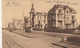 Wenduyne  ,  Wenduine ,  Route Royale - Hotel Savoy  ( Rail  Du Tram + Auto) - Wenduine
