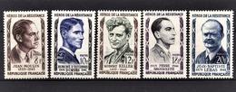 FRANCE 1957 - SERIE 5 TP NEUFS** / Y.T. N° 1100 A 1104 - - France