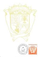TAAF - Dumont D'Urville-T.Adélie: Carte Avec Timbre N°194 Armoiries 50c Orange - 01/01/1995 - Lettres & Documents