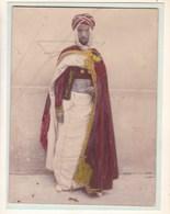 ALGERIE AURES. Bahmed Ahmed, CAID De AIN ZATOUR (BENI FERAH) 1925  Photo Amateur Colorisée Environ 7,5 Cm X 5,0 Cm - Personalidades Famosas