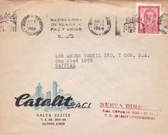 1964 COMMERCIAL COVER-CATALIT SAIC. BUENOS AIRES ARGENTINE. BANDELETA PARLANTE.- BLEUP - Lettres & Documents
