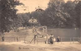 BRUXELLES - Bois De La Cambre - Le Lac Et Le Chalet Robinson - Forêts, Parcs, Jardins