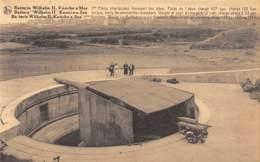 KNOCKE S/Mer - Batterie Wilhelm II - 1re Pièce, Chariot Pour Transport Des Obus.  Poids De L'obus 427 Kgs - Knokke