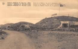KNOCKE S/Mer - Batterie Wilhelm II - Entrée De La Batterie.  Vue Des 4 Formidables Abris - Knokke