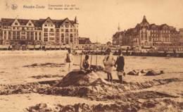 KNOCKE-ZOUTE - Construction D'un Fort - Knokke
