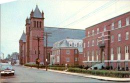 New Hampshire Nashua St Patrick's Rectory Parish School And Church - Nashua