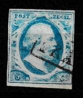 1852 Koning Willem III 5 Ct.  NVPH 1 - Periode 1852-1890 (Willem III)