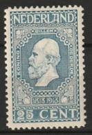 1913 Jubileum 25ct.  NVPH 96 Ongestempeld - Ongebruikt