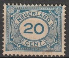 1922 Cijfers, Numbers.  NVPH 109 Ongestempeld/MH/* See Description - Ongebruikt
