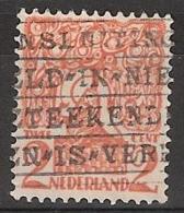 """1923  Stempel  """"aansluiting … Aangetekend"""" (registered) …. Op NVPH 111 - Poststempels/ Marcofilie"""