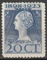 1923 Jubileum 20ct  - Ongestempeld - Ongebruikt
