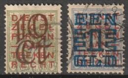 1923 Opruimingsuitgifte NVPH 132-133 -  Cancelled/gestempeld - Periode 1891-1948 (Wilhelmina)