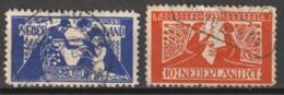 1923 Tooropzegels NVPH 134-135 -  Cancelled/gestempeld - Periode 1891-1948 (Wilhelmina)