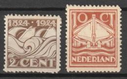 1924 Reddingswezen NVPH 139-140  Ongestempeld. See Description - Ongebruikt