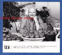 Photo Ancienne De 1992 - Portrait De Jean Pierre COFFE Animateur Et Critique Gastronomique - Personalidades Famosas