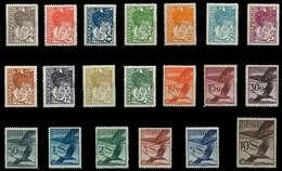 ÖSTERREICH 1925 Nr 468-487 Ungebraucht X89C822 - 1918-1945 1. Republik