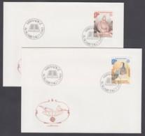 Liechtenstein FDC 1983 - MiNr. 816-817 - Europa CEPT - Grosse Werke Des Menschlichen Geistes (2) - FDC
