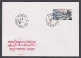 Liechtenstein FDC 1989 - MiNr. 963 - Josef Rheinberger - FDC