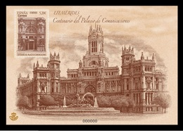 Spain 2019 - Centenary Of Cibeles Palace - Miniature Sheet Mnh - 1931-Hoy: 2ª República - ... Juan Carlos I