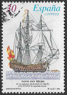 Spain SG MS3321b(ex) 1995 Ship Paintings 30p Good/fine Used [40/32505/6D] - 1931-Today: 2nd Rep - ... Juan Carlos I