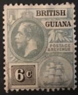 British Guiana - (0) - 1913-1916 - # 182 - Guyana Britannica (...-1966)