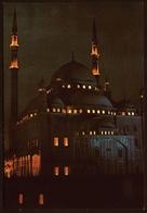 Cairo / Kairo  -  The Mohamed Aly Mosque  -  Am Abend  -  Ansichtskarte Ca. 1980   (11309) - Cairo
