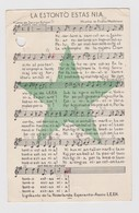 AKEO Dutch Card About LEEN's Group Anthem - Nederlanda Karto De La Himno De La Grupo LEEN - Esperanto