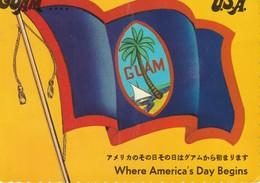 Guam U. S. A.  Where America's Day Begins - Guam
