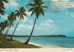 Guam U. S. A.  Beautiful Tumon Beach - Guam