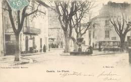 """/ CPA FRANCE 13 """"Cassis, La Place"""" - Cassis"""